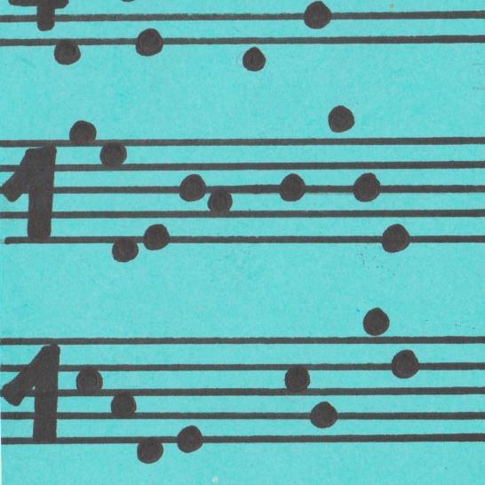Las notas musicales también pueden servir para esconder mensajes.