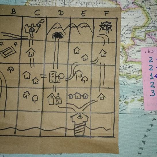 El reto de inicio de la partida: Ubicarse en Allendelmar